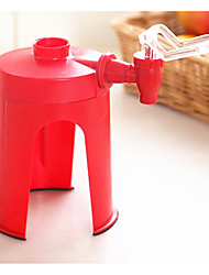 New Creative Red Fizz Soda Saver Coke Cola Drinks Dispenser Bottle Drinking Water Dispense Machine Qu Food&Drink  Acrylic Specialty Tools