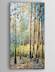 Hand-Painted  Landscape by Knife Oil Painting With Stretcher For Home Decoration Ready to Hang
