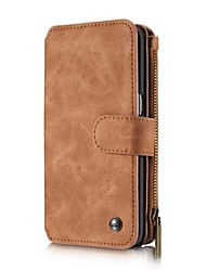 cheap -Genuine Leather Cover Multi-functional Cards Holder Wallet Case For Samsung Galaxy Grand Prime J3 J5 J7 J3(2016)