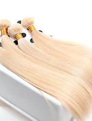 Недорогие -девственница волосы прямые, 4 шт / много оптовых прямо европейские волосы ткет цвет 613