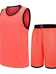 Homme Sans Manches Basket-ball Ensemble de Vêtements Baggy Respirable Confortable