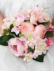 cheap -Beautiful Man-made Rose Peony Bouquet Wedding Accessories Chic & Modern