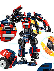 Building Blocks Robot Toys Machine Robot Cool 377 Pieces Boys' Boys Birthday Carnival Children's Day Gift
