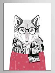 economico -Astratto Animali Stile europeo Classico,Un Pannello Tela Verticale Stampa artistica Decorazioni da parete For Decorazioni per la casa