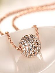 Недорогие -Кулоны Сплав 18K золото Базовый дизайн Мода Золотой Бижутерия Повседневные 1шт