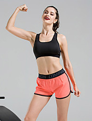 Per donna Reggiseni sportivi Pantaloncini da corsa Traspirante Set di vestiti per Yoga Corsa Esercizi di fitness Tessuto Modal S M L XL