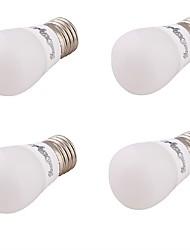 E27 Lâmpada Redonda LED G80 leds SMD 5730 Decorativa Branco Quente 240lm 3000