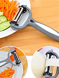 cheap -1Pcs  Multifunctional 360 Degree Rotary Carrot Potato Peeler Melon Gadget Vegetable Fruit Turnip Slicer Cutter Kitchen  Random  Color