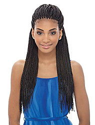 cheap -Natural Black Synthetic Wigs For Afro Women Lace Front Heat Resistant Wig
