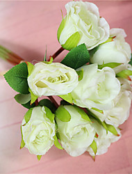 1Pc   A bouquet of roses flower wholesale trade wedding bouquet decoration Home Furnishing bride