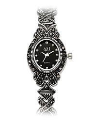 ASJ Women's Fashion Watch Bracelet Watch Japanese Quartz Japanese Quartz Water Resistant / Water Proof Shock Resistant Imitation Diamond