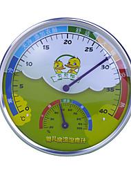 colore casuale ming ad alta temperatura interna delle famiglie e misuratore di umidità un mini igrometro temperatura precisione