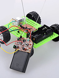 cheap -Crab Kingdom Model Assembled DIY Technology Handmade Green wo - way Remote Control Version of The Car on The 14th