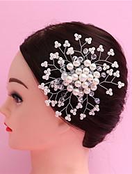 abordables -Alfileres Accesorios para el cabello Perla / Cristal Accesorios pelucas Mujer 1pcs PC 1 a 4 pulg cm Fiesta Cristal Cristal