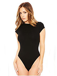cheap -Women's Basic Bodysuit - Solid Colored