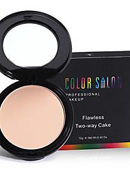 cheap -colors Foundation / Concealer / Contour Dry Cream Waterproof / Moisture / Oil-control Face