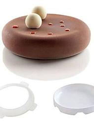 Molde Para Bolo Para Chocolate Silicone Bricolage 3D Alta qualidade Anti-Aderente Ecológico