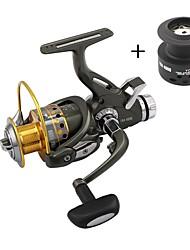 Mulinelli da pesca Mulinelli per spinning 5.1:1 9 Cuscinetti a sfera Intercambiabile Spinning Pesca di carpe-FRA6000 YOLO