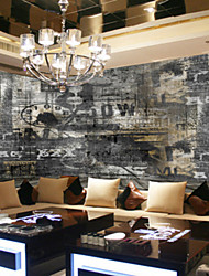 Art Deco Wallpaper For Home Wall Covering Canvas Adhesive required Mural Black Retro Do the Old Background XXXL(448*280cm)XXL(416*254cm)XL(312*219cm)
