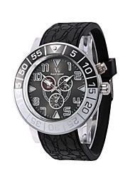 Pánské Sportovní hodinky Módní hodinky Náramkové hodinky Křemenný Silikon Kapela Běžné nošení Vícebarevný