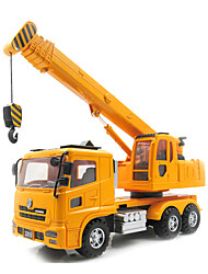 cheap -Lili Pull Back Vehicles Pull Back Car/Inertia Car Construction Vehicle Crane Toys Novelty Car Plastic Metal Classic & Timeless Pieces