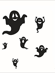 cheap -Personality Halloween Series Apparition Wall Stickers Bedroom Living Room Decorative Sticker Removable Waterproof