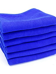 ZIQIAO 6Pcs/lot Microfiber Car Cleaning Cloth Wash Towel Products Dust Tools(30*30CM)