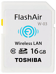 abordables -Toshiba 16GB SD Card wifi tarjeta de memoria Clase 10 Flash air