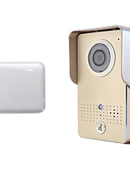 High Security Product Real-time remote Smart WiFi Video Door Phone Wifi Bell Wireless Doorphone