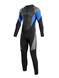cheap -Bluedive Women's Men's 3mm Full Wetsuit Thermal / Warm Quick Dry YKK Zipper Compression Full Body Nylon Neoprene Diving Suit Long Sleeve