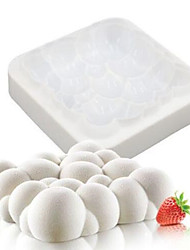 1PCS Silicone 3D Sky Cloud Mold Cake Decorating Baking Tools For Chocolate Mould