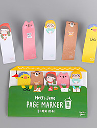 cheap -Special Design BUS Shaped Self-Stick Note Set OF 1 For School / Office
