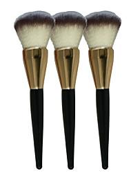 voordelige -1 Contour Brush Foundationkwast Poederkwast Blushkwast Synthetisch haar Professioneel Hout Gezicht bronzer Blozen Poeder Foundation