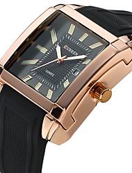 cheap -Men's Wrist watch Dress Watch Fashion Watch Sport Watch Quartz Casual Watch Genuine Leather Band Charm Luxury Casual Multi-Colored