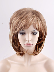 cheap -Synthetic Hair Wigs Natural Wave Capless Carnival Wig Halloween Wig Natural Wigs Short Blonde Synthetic Wig