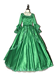 cheap -Steampunk® Women's Prom Gothic Brocade  Marie Antoinette Gown with Bows- Custom