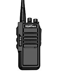 Wanhua gts-812 walkie talkie portátil VHF 136-174MHz UHF 400-470MHz 5W rádio em dois sentidos