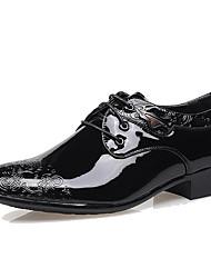 Herren Schuhe Lackleder Herbst Winter formale Schuhe Outdoor Für Kleid Party & Festivität Schwarz