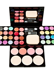 cheap -1Pcs Make-Up Box Of Color Plate Of Makeup Set 24 Color Eye Shadow 8 Color Lip Gloss 4 Color Blush 3 Powdery Cake