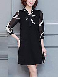 cheap -Women's Daily / Party Vintage / Street chic Sheath Dress