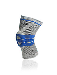 Unisex Knee Brace for Football Breathable Stretchy Protective 1pcs Sports Outdoor Nylon