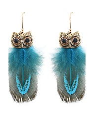 cheap -Women's Drop Earrings - Fashion Red / Blue / Candy Pink For Wedding / Party / Daily