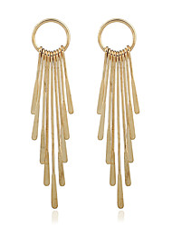 cheap -Women's Dangle Earrings Jewelry Gold Plated Jewelry Wedding Party Casual