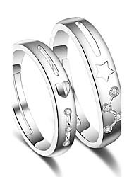 billige -Dame Parringe / Ring - Stilfuld Justerbar Sølv Til Bryllup / Fest / Speciel Lejlighed