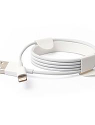 Недорогие -USB 3.0 / Подсветка Кабели / Кабель 1m-1.99m / 3ft-6ft Нормальная Поликарбонат Адаптер USB-кабеля Назначение iPad / Apple / iPhone