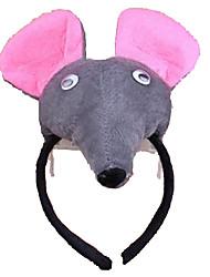 cheap -CHENTAO Headgear Mouse Plush Unisex Gift 1pcs