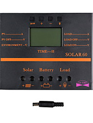 cheap -Y-SOLAR 60A LCD Solar Charge Controller PWM Charger Solar panel SOLAR60