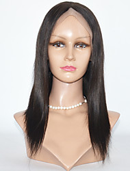 cheap -Long Leng Brazilian Hair Synthetic  Lace Front  Wig Yaki Straight  Lace Front  Wig For  Women