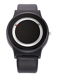 Men's Dress Watch Skeleton Watch Fashion Watch Wrist watch Sport Watch Quartz Genuine Leather Band Charm Casual Multi-Colored