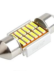 cheap -ZIQIAO 31MM 12 SMD LED 4014 CANBUS Car Festoon Interior Light Bulbs(12V/2PCS)